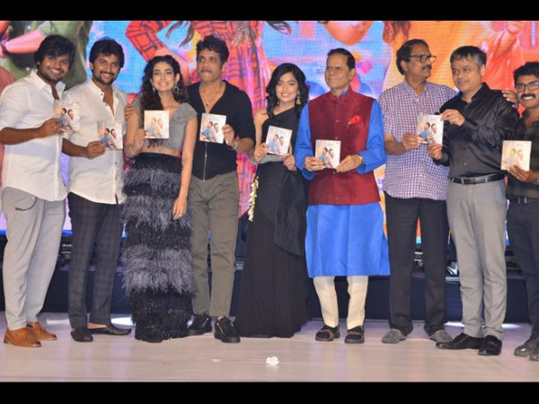 Devadas Audio Launch: Nagarjuna, Nani, Samantha Akkineni & More Grace This Fun-filled Event