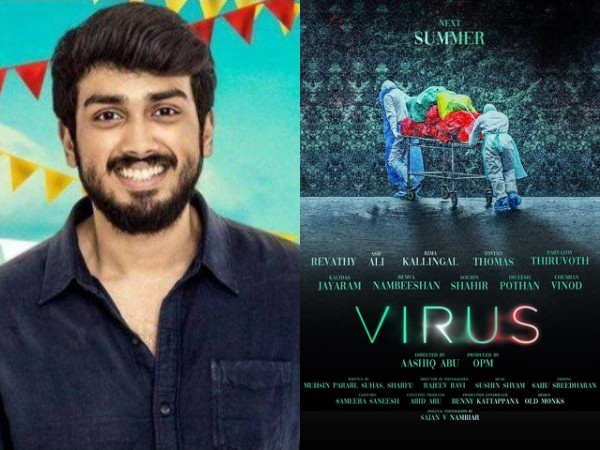 Kalidas Jayaram Has Been Replaced By Another Actor In Aashiq Abu's Virus?