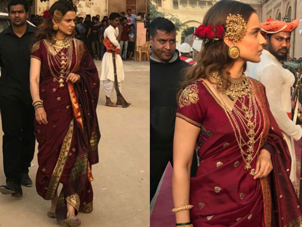 Kangana Ranaut Is Working Overtime For Manikarnika!