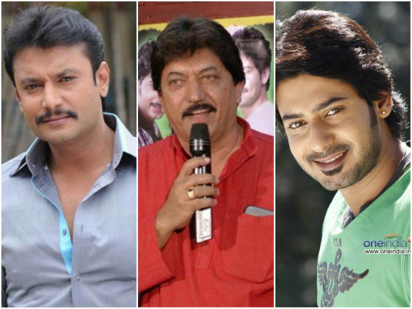 Kannada Actors Darshan, Devaraj and Prajwal Devaraj Meet With An Accident In Mysore!