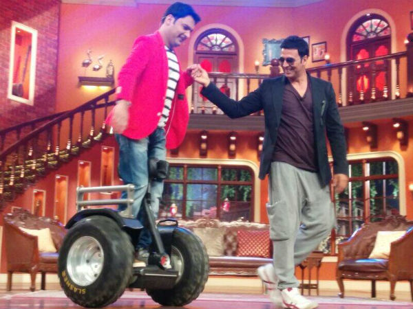 Kapil Sharma Is Following Akshay Kumar's Lifestyle These Days!
