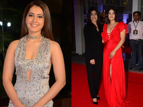 Mirchi Music Awards 2018: Raashi Khanna, Rashmika Mandanna And Others Attend The Event; View Pics