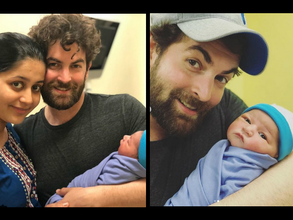 Neil Nitin Mukesh Shares First Photos Of His Newborn Daughter Nurvi; They Are Just Too Cute!