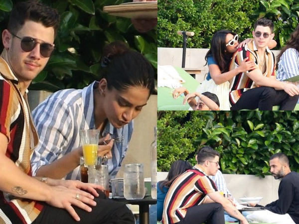 Double Date In Italy: Priyanka Chopra, Nick Jonas, Sonam Kapoor & Anand Ahuja Hang Out Together!