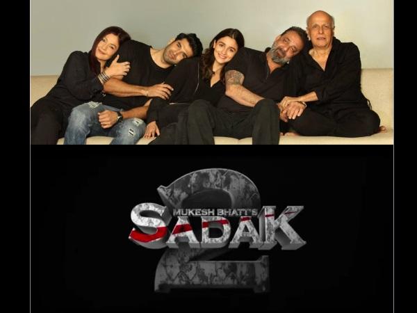 Sadak 2: Sanjay Dutt, Pooja Bhatt, Alia Bhatt & Aditya Roy Kapur To Star In The Film!