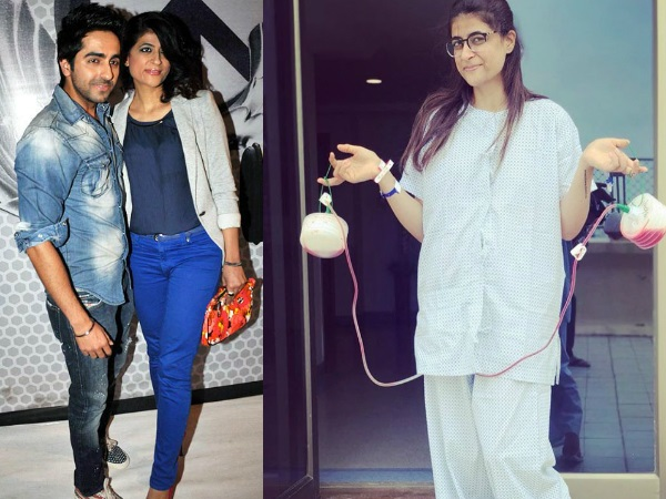 Ayushmann Khurrana's Wife Tahira Kashyap Diagnosed With Stage 0 Breast Cancer!