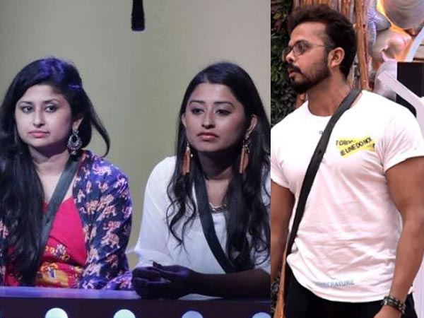 Bigg Boss 12 Spoiler: Sreesanth To Leave The House Tonight After Calling Somi Khan 'Sabse Gandi'!