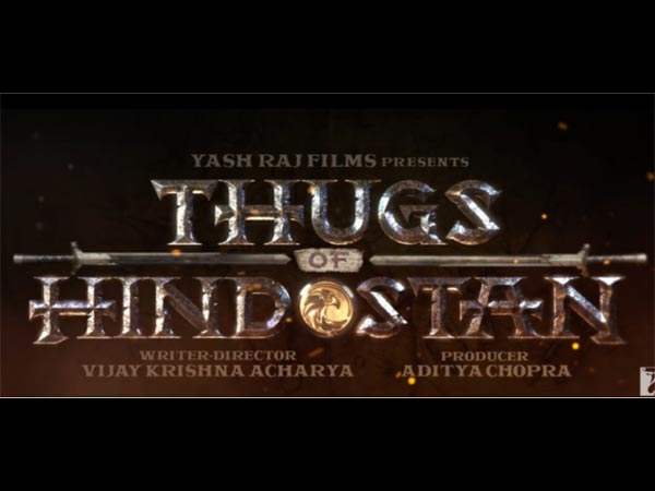 Thugs Of Hindostan Logo Poster: This First Look Of Aamir Khan's Next Is Giving Us 'GoT' Feels!