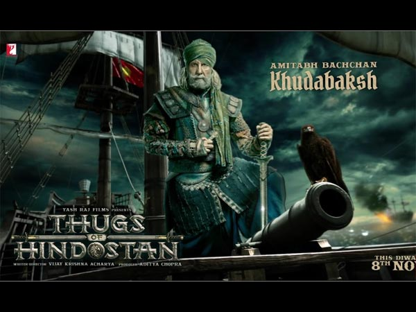 Thugs Of Hindostan: Amitabh Bachchan's First Look Revealed, Get Ready To Meet Him As 'Khudabaksh'!