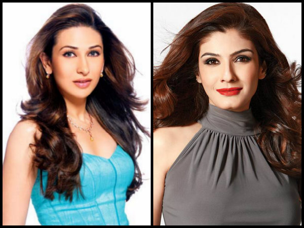 CATFIGHT OF 90s! When Karisma Kapoor INSULTED Raveena Tandon Publicly At Shahrukh Khan's Holi Bash