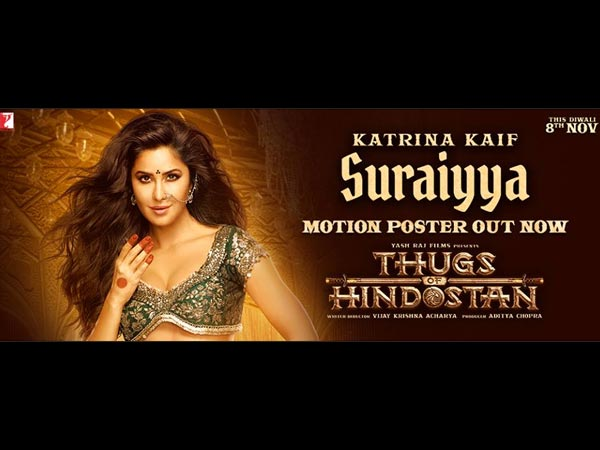 Thugs of Hindostan Unveils New Poster Of Katrina Kaif As Suraiyya! View Here