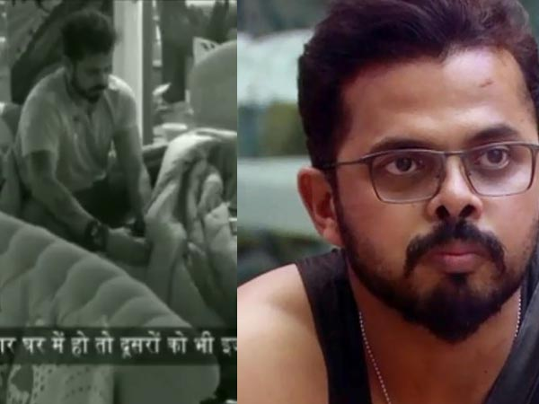 SHOCKING! Sreesanth Using Mobile Phone Under The Blanket In Bigg Boss 12 House? Caught On Camera!