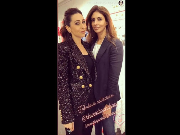 Shweta Bachchan & Karisma Kapoor Bonded Like Old Friends
