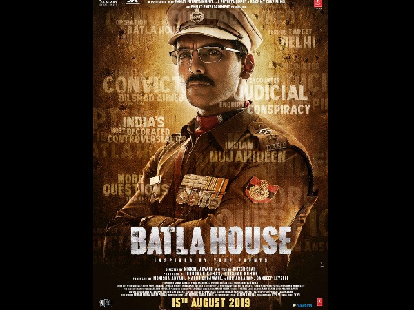 Batla House: John Abraham As India's Most Controversial Cop, First Look Poster Looks Promising!