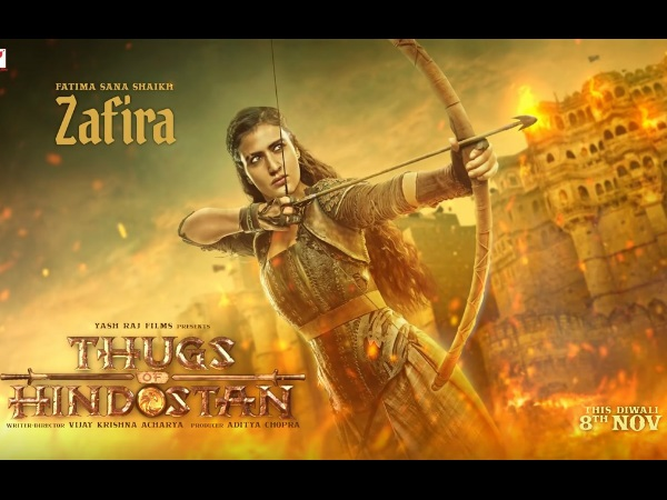 Thugs Of Hindostan: Fatima Sana Shaikh's First Look As Warrior Thug Zafira Will Leave You Spellbound