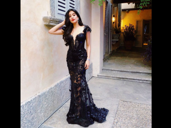 Isha Ambani's Grand Engagement At Lake Como: Janhvi Kapoor Looks Breathtaking In A Black Gown [Pics]