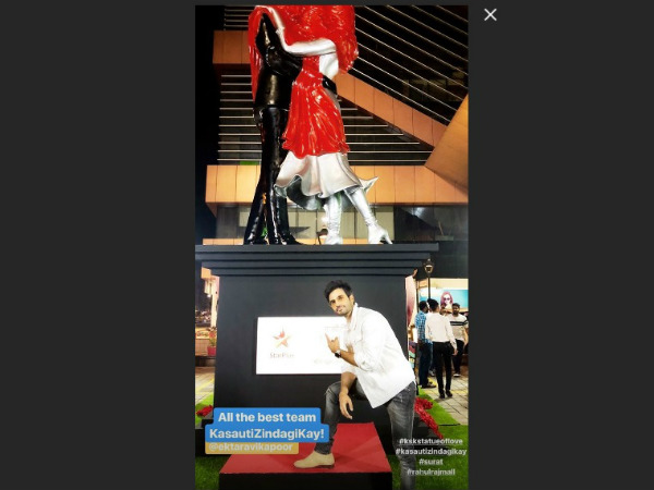 Karan Tacker Unveils Parth & Erica's 23-ft Statue Of Love