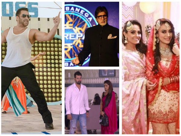 Naagin 3, Dance Deewane & Bigg Boss 12