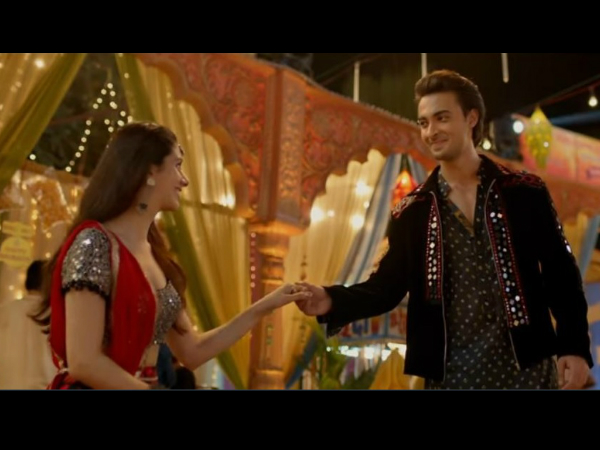 LoveYatri Song Dholida: Aayush Sharma & Warina Hussain Teach You Some Cool Garba Moves!