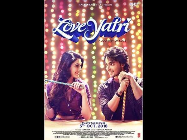 Salman Khan Changes The Title Of Aayush Sharma's Loveratri To Loveyatri; New Poster Out!