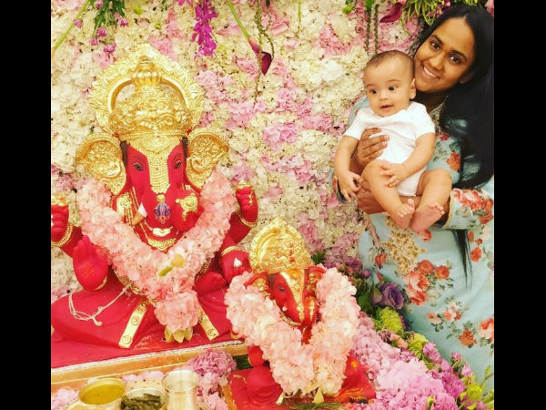 Ganesh Chaturthi Celebrations Now Shifted To Arpita & Aayush's Residence