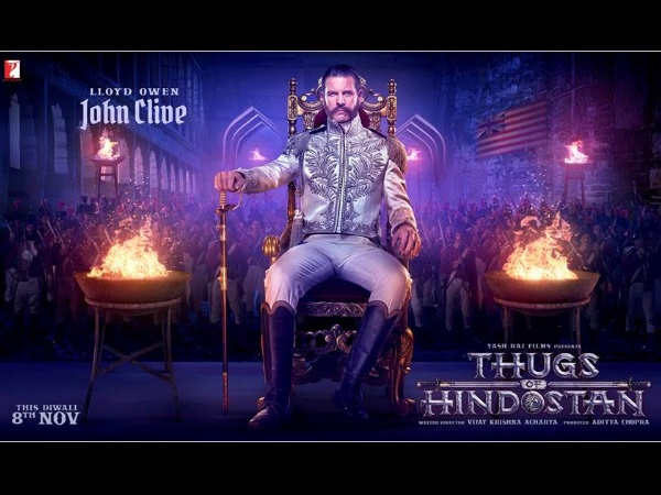 Thugs Of Hindostan: British Actor Lloyd Owen Is The Cold-Hearted Villain In This Aamir-Big B Film!