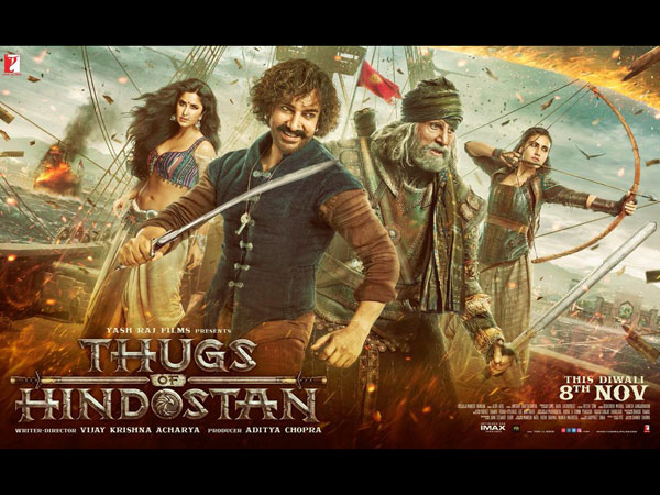Thugs Of Hindostan Poster: Aamir, Amitabh, Katrina & Fatima Are Here To Thug You This Diwali!