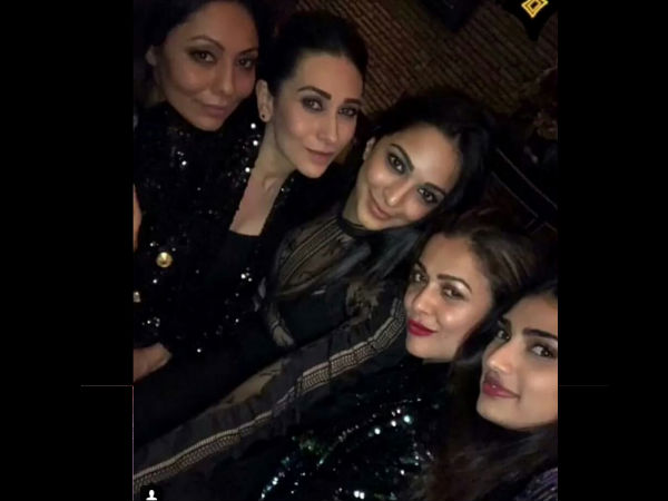 Gauri & Karisma In One Frame