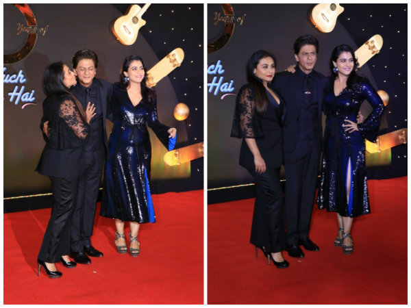 Kuch Kuch Hota Hai 20 Years Celebrations: Shahrukh, Kajol & Rani Recreate The Magic All Over Again