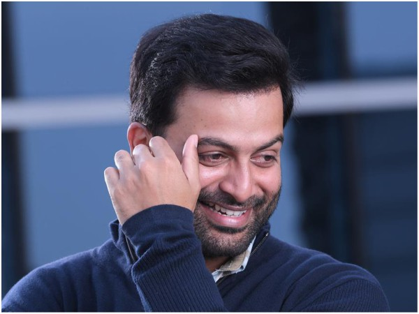 Prithviraj Announces His Next Movie On The Special Day Of His Birthday!