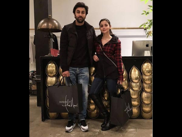 Ranbir Kapoor & Alia Bhatt Spend Some Quality Time In New York & Their Pics Are All Things Love!