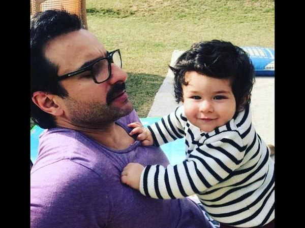 Saif Doesn't Understand Why Taimur Receives So Much Attention