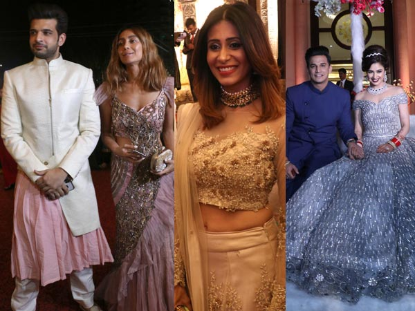 Prince Narula & Yuvika Chaudhary Reception Graced By Anusha, Kishwer & Harbhajan Singh!