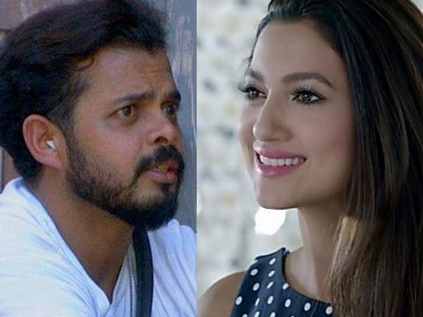 Surbhi Calls Sreesanth Mentally Ill For Spitting On Deepak's Name; Gauhar Khan Supports Sreesanth!