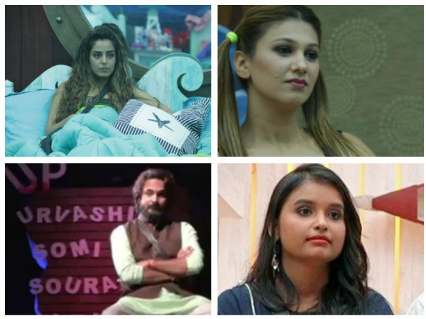 Bigg Boss 12: Srishty Rode, Jasleen Matharu, Urvashi Vani Or Saurabh Patel-Who Will Get Eliminated?