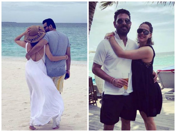 Sagarika Ghatge, Zaheer Khan, Hazel Keech & Yuvraj Singh Holiday In Maldives! View Pictures