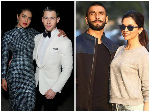 Priyanka Chopra Reacts To Deepika Padukone & Ranveer Singh's Wedding Announcement!