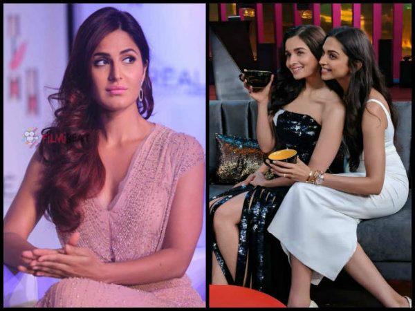 PAYBACK TIME! Did Deepika Padukone TAUNT Katrina Kaif Over Alia Bhatt's Affair With Ranbir Kapoor?