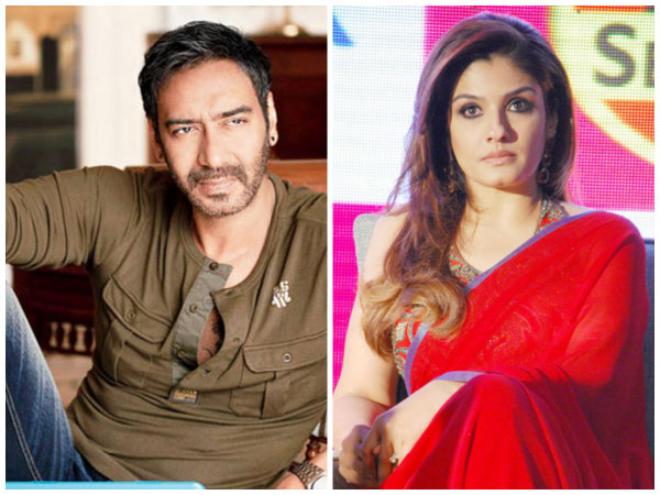 Did Raveena Tandon Call Out Ajay Devgn For Professional Harassment? Blamed Him For Losing Films?