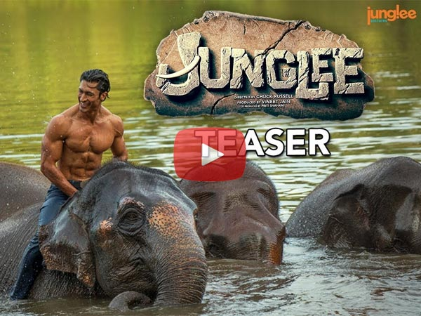 Vidyut Jammwal's Junglee Teaser: Elephants Are Much Friendly Than Greedy Humans!