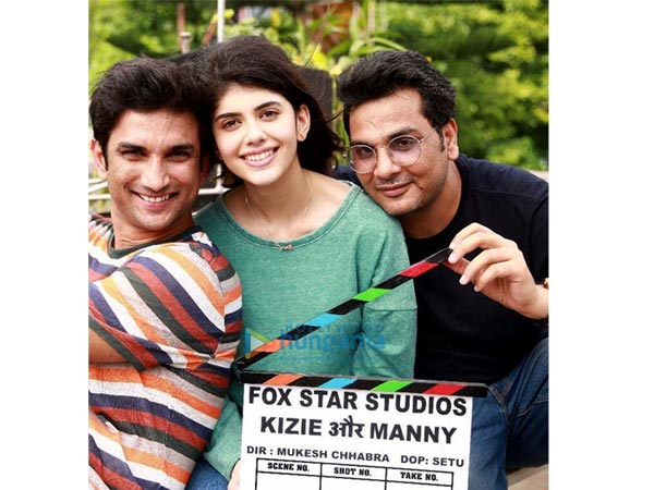 Did Sushant Singh Rajput Make Sanjana Sanghi Uncomfortable; Mukesh Chhabra Failed To Back Her?