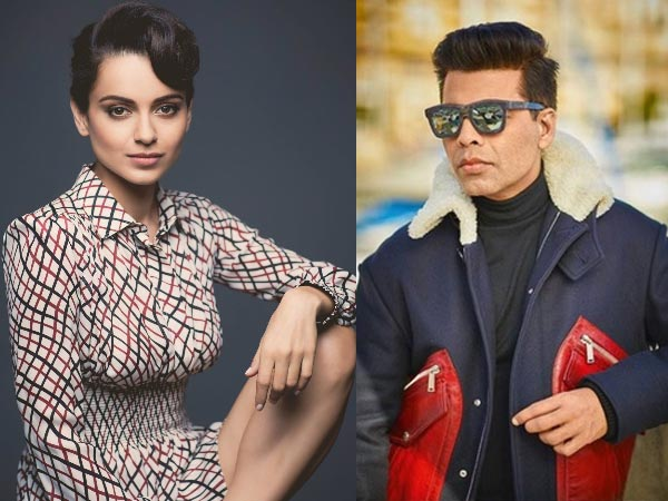 #MeToo: Kangana Ranaut Slams Karan Johar: 'He Always Has Views About Gym Looks, What About This?'