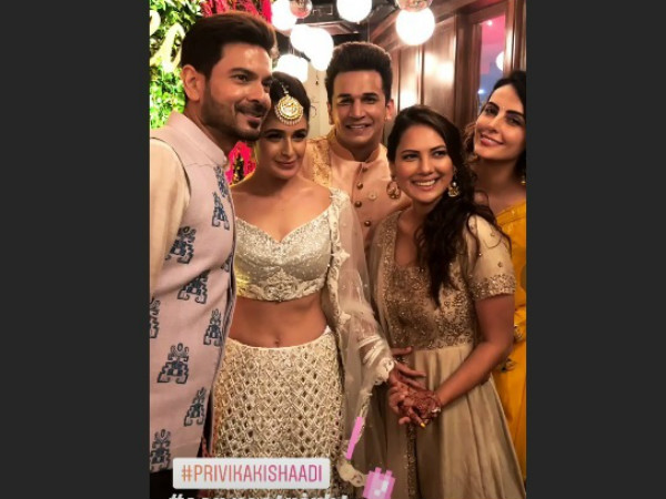 Mandana With Her Bigg Boss Gang