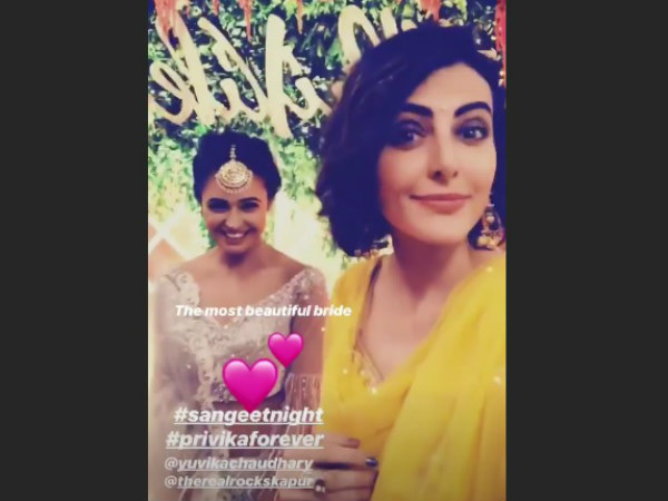 Mandana Karimi With Yuvika