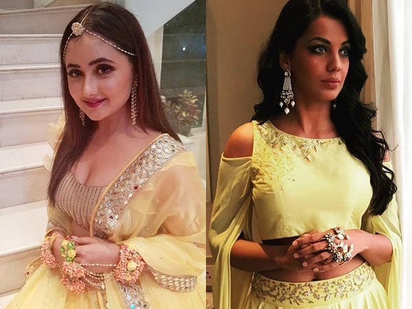 Did Rashmi Desai Walk Out Of An Event At Last Minute Because Of Mugdha Godse?