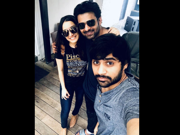 Shraddha Kapoor Wishes Saaho Co-star Prabhas With An Unseen Picture!