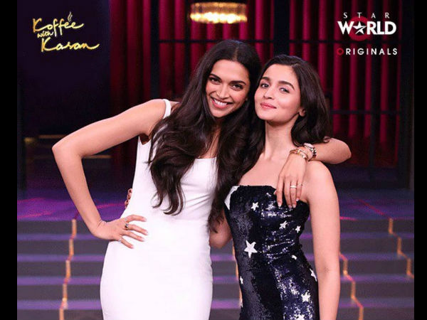 Alia On Deepika