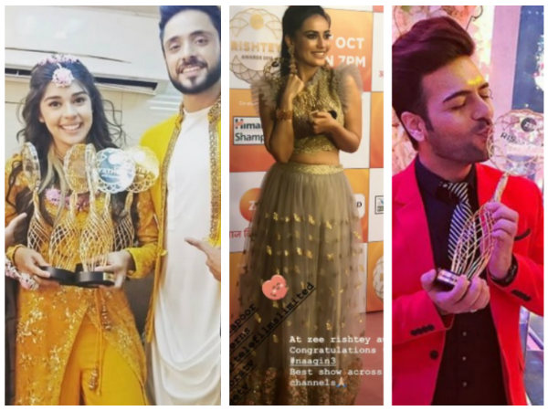 Zee Rishtey Awards 2018 Winners List: Sriti-Shabbir, Eisha-Adnan, Surbhi Jyoti & Others Bag Awards