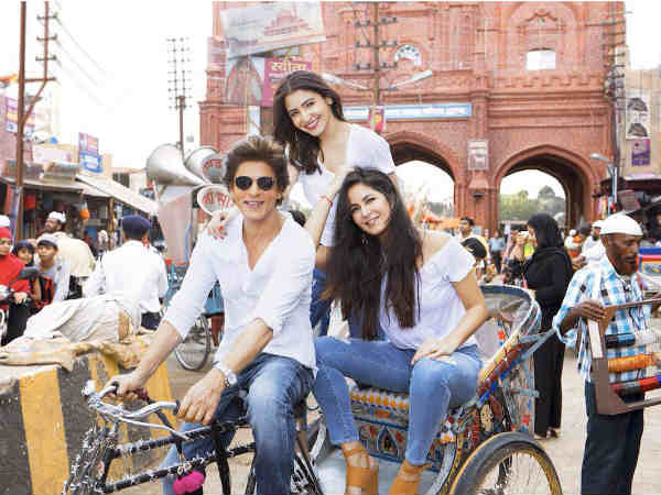 Zero posters: Shah Rukh Khan, Anushka Sharma and Katrina Kaif's look unveiled