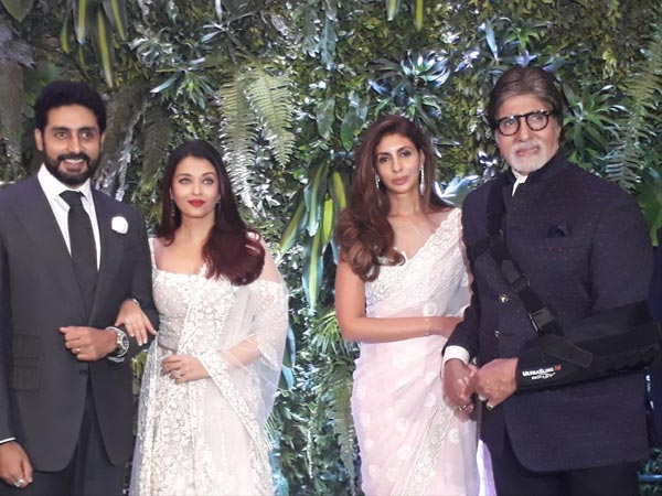 All Is Not Well Between Shweta Bachchan & Aishwarya Rai?